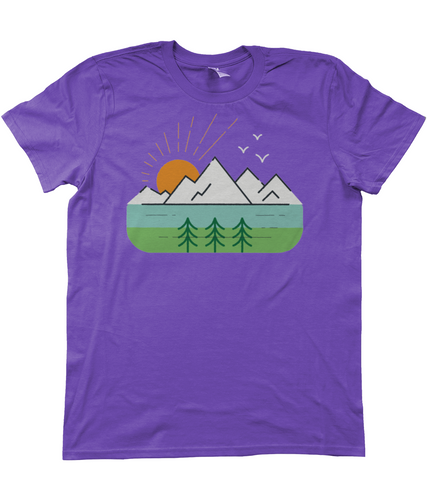 'Sunrise'  T Shirt - Outdoor Clothing