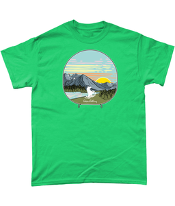 NEW Camping zip effect T shirt - Outdoor Clothing