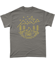 Load image into Gallery viewer, 'Camping' T Shirt - Outdoor Clothing | Kelpie Clothing