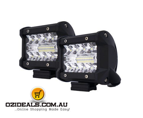 2 x 4 inch CREE LED Work Lights