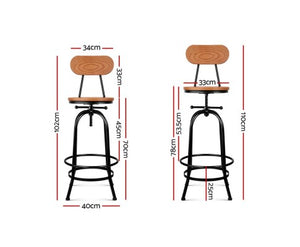 Vintage Bar Stool Industrial look
