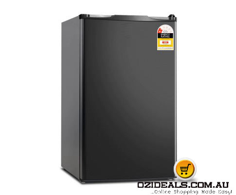 127L Bar Fridge White - Silver - Black