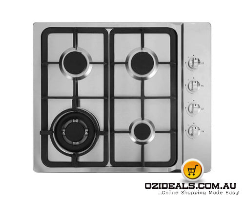 Gas Cooktop 60cm 4 Burner Kitchen Cook Top
