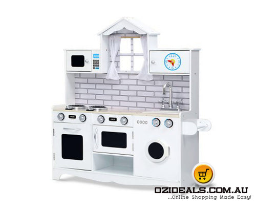 Kids Kitchen Pretend Play Set