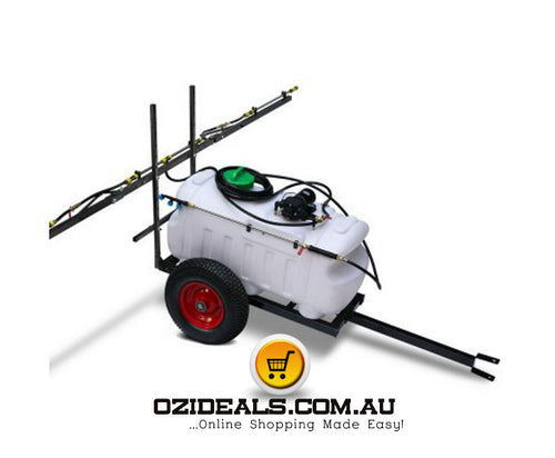 Weed Sprayer 100L Tank with Trailer