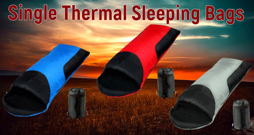 Single Thermal Sleeping Bags