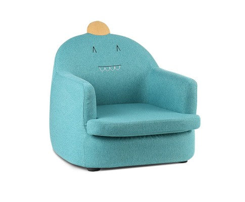 Kids Fabric Armchair Couch Dinosaur Chair