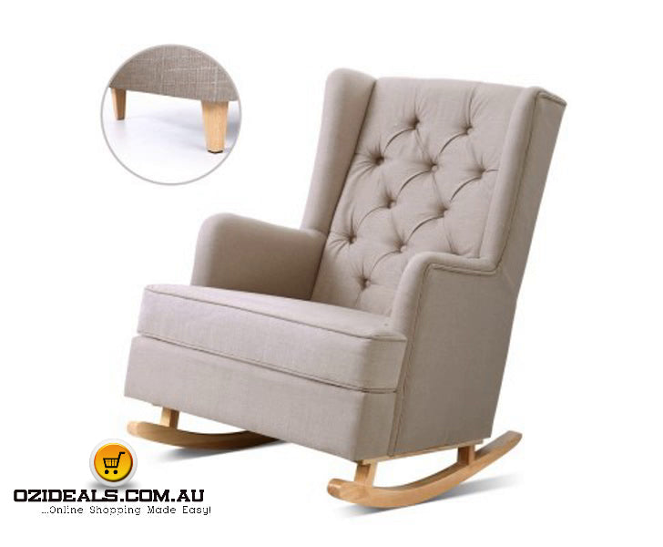 Rocking & Baby Feeding Armchair