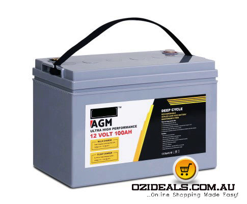 100Ah Deep Cycle Battery Power 12V
