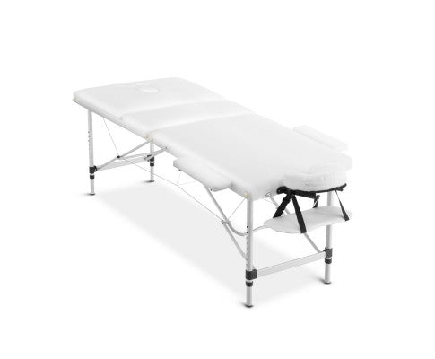 75cm wide 3 Fold Portable Aluminium Massage Table