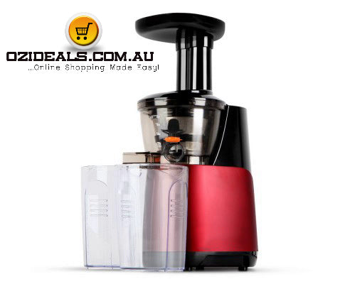 Cold Press Food Processor Juicer - Red