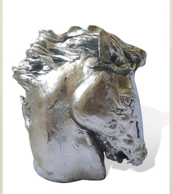 Handmade Horse Head Sculpture