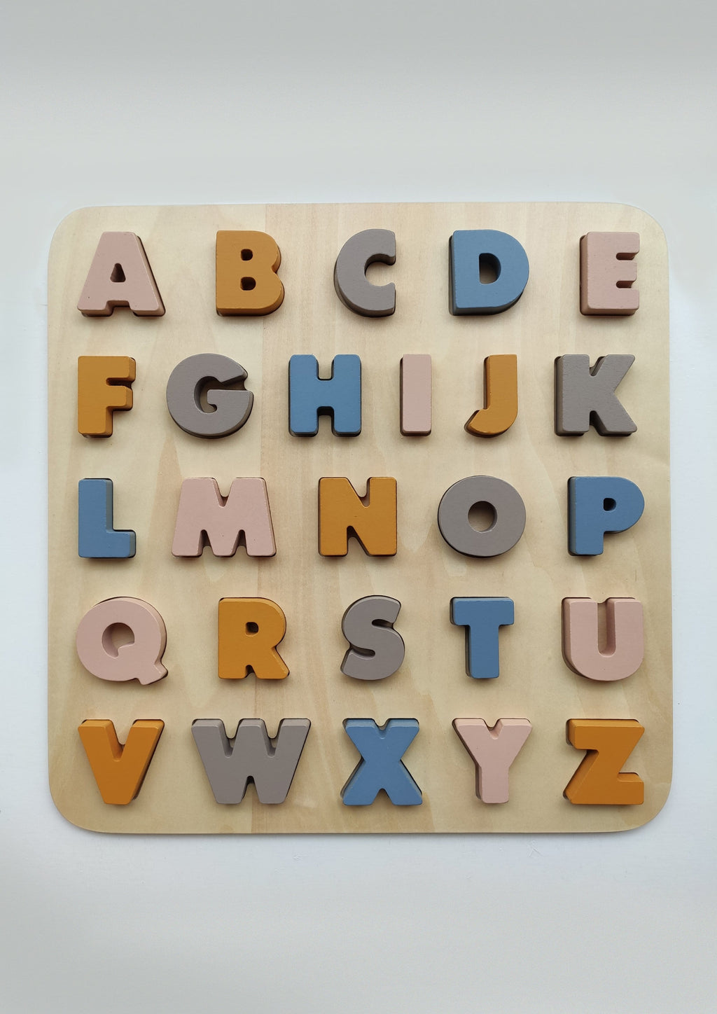 Holzpuzzle ABC in XXL