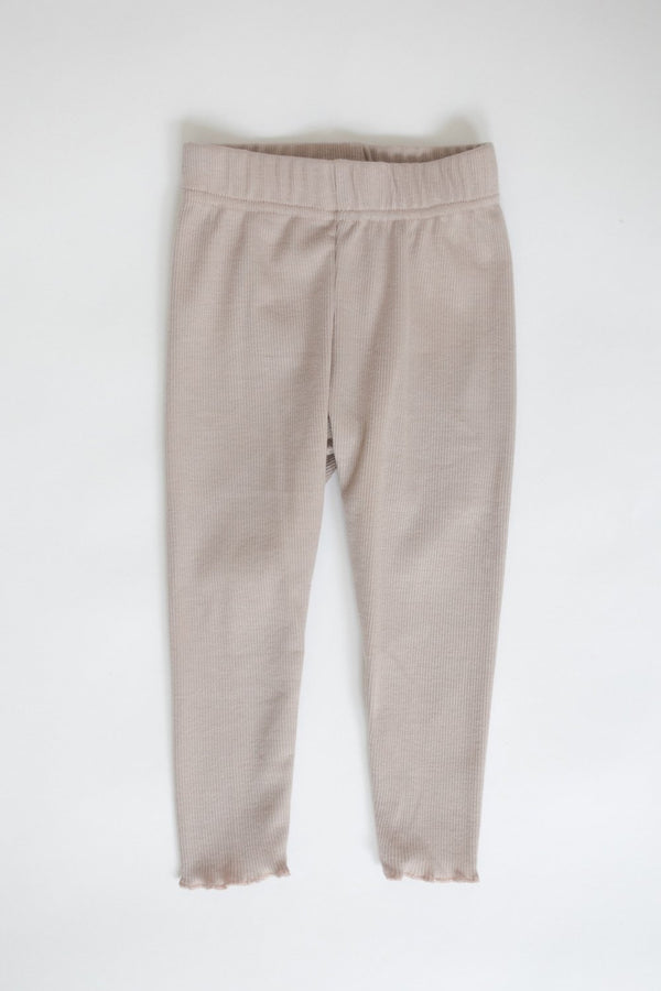 "Ribbed Leggings ""Rosè"""