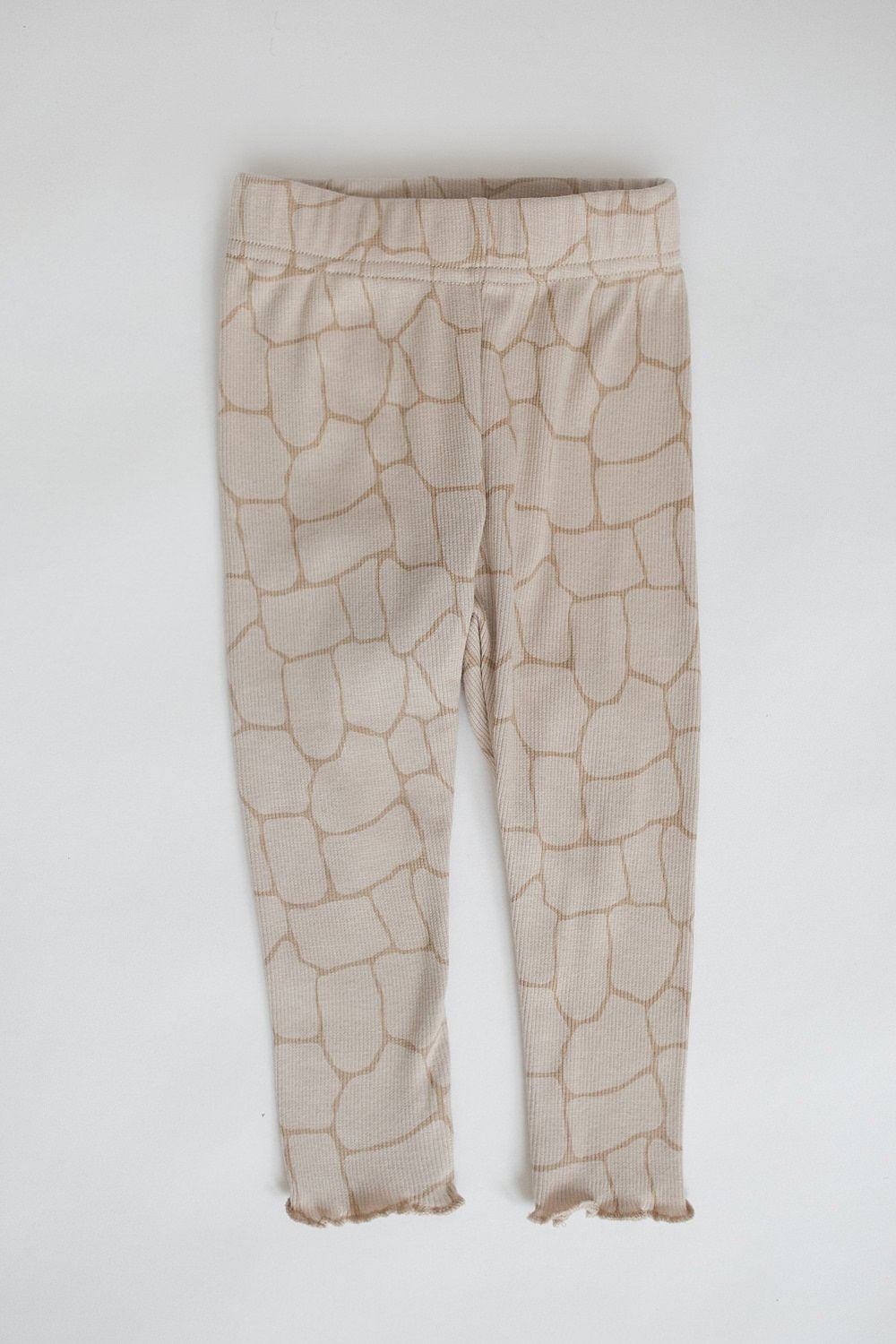 "Ribbed Leggings ""Giraffe"""