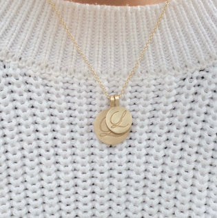 Make It Personal (Solid Gold Initial Necklace)