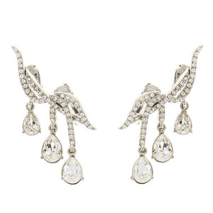 OSCAR DE LA RENTA EAR CRAWLER EARRINGS