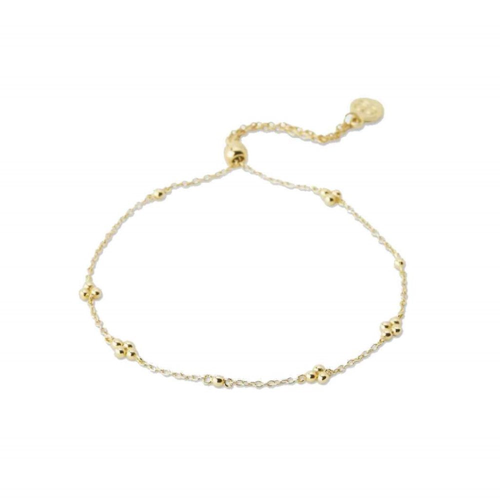 Gorjana Costa Adjustable Bracelet 18K Gold Plating