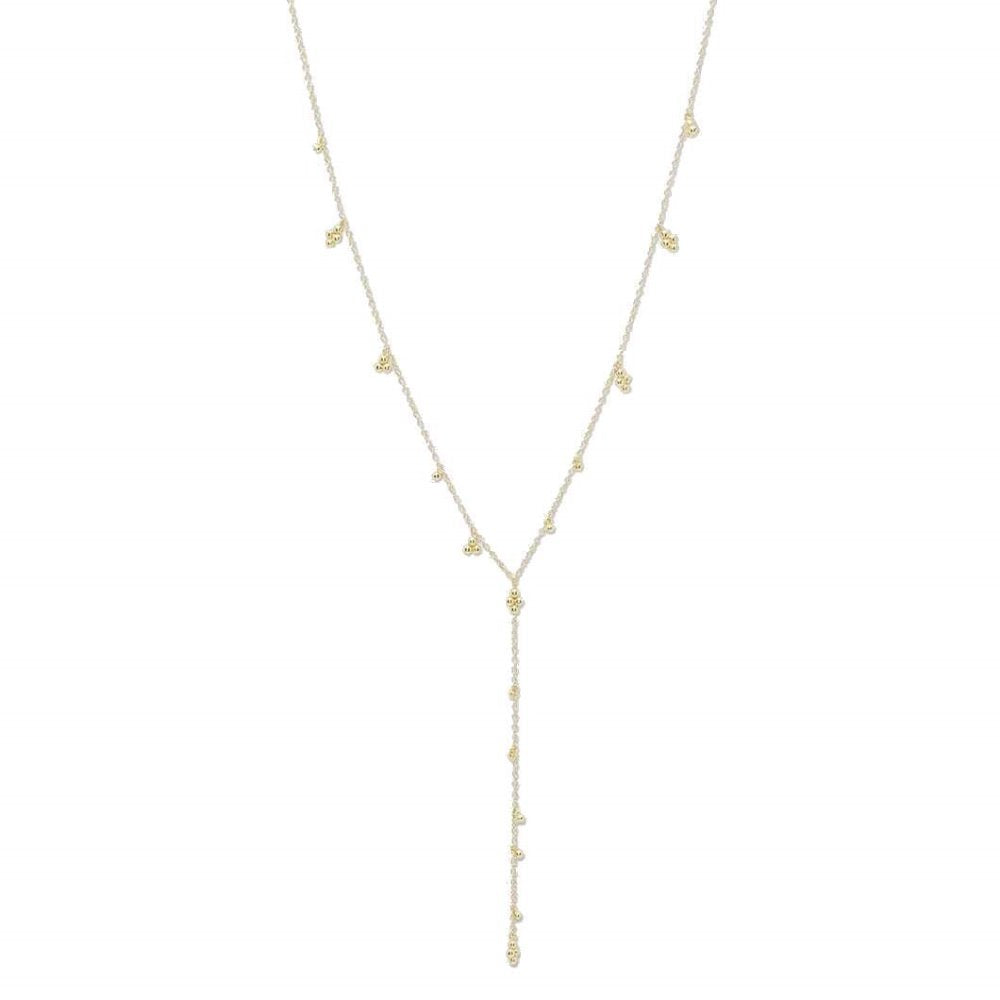 Gorjana Costa Lariat 18K Gold Plating