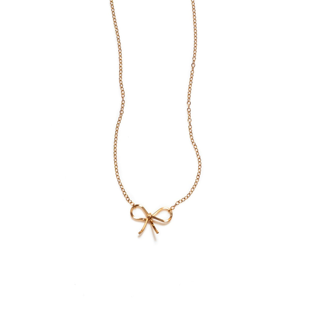BY BOE BOW NECKLACE