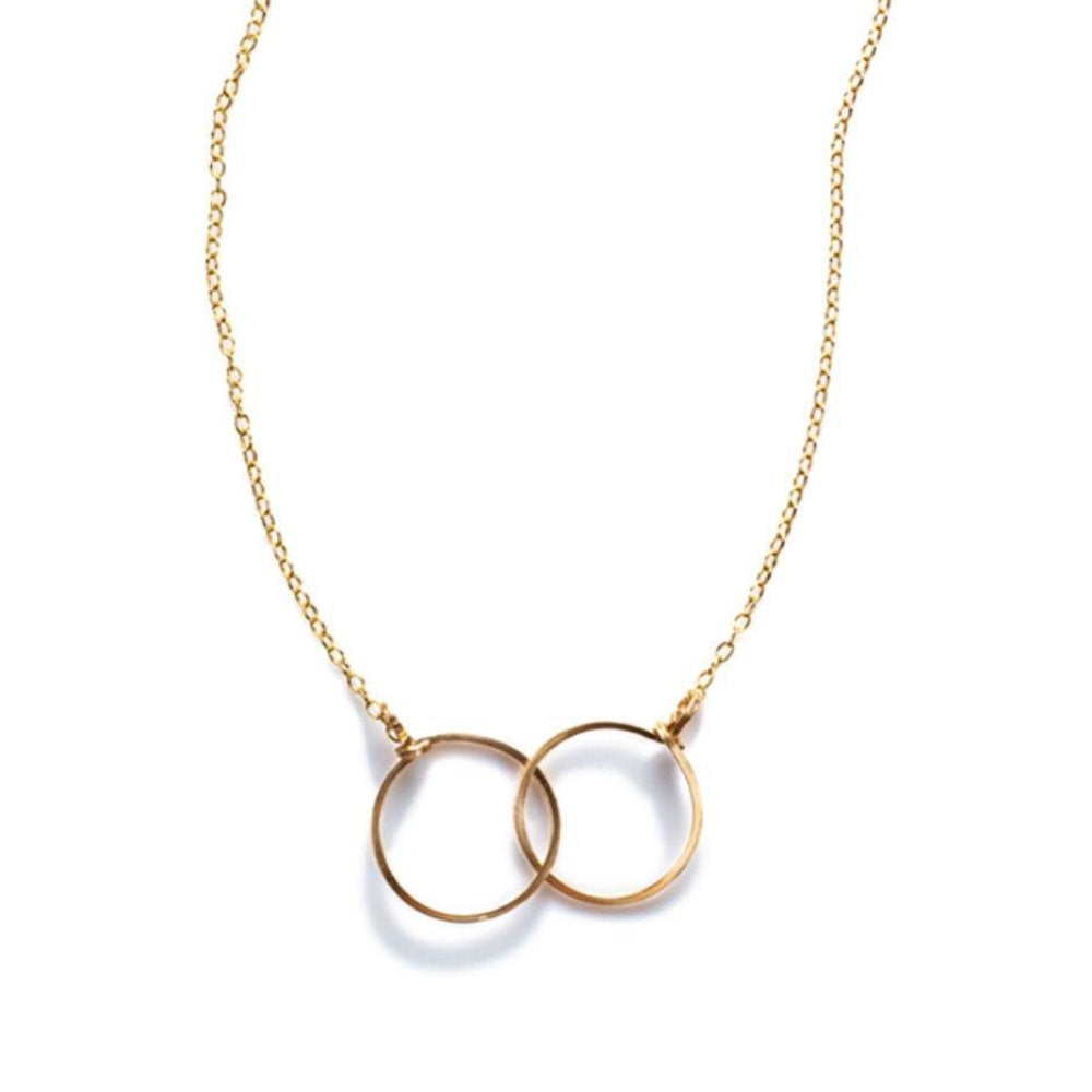 BY BOE INTERLINKING CIRCLE NECKLACE