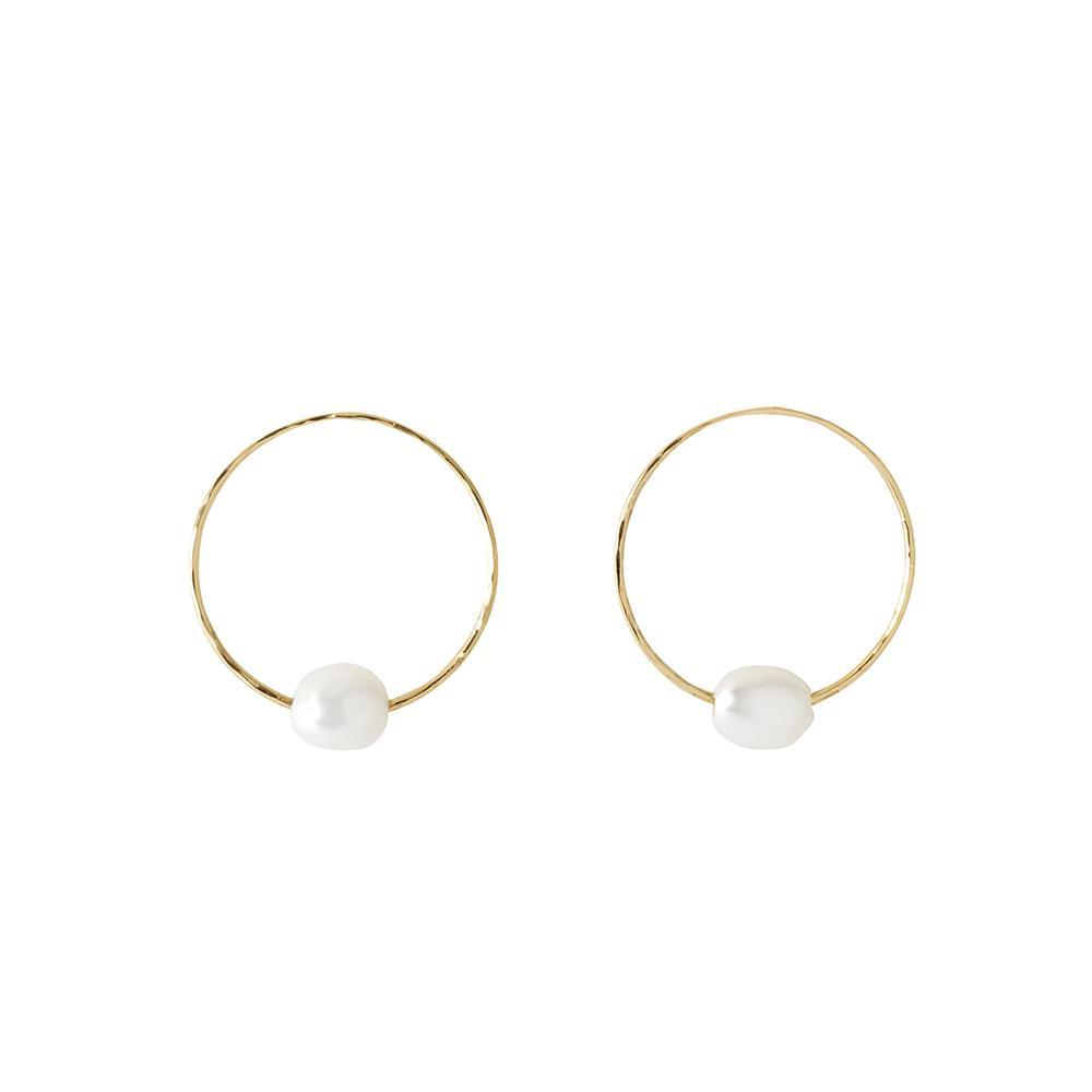 MARGARET ELIZABETH PACIFIC HOOP EARRINGS