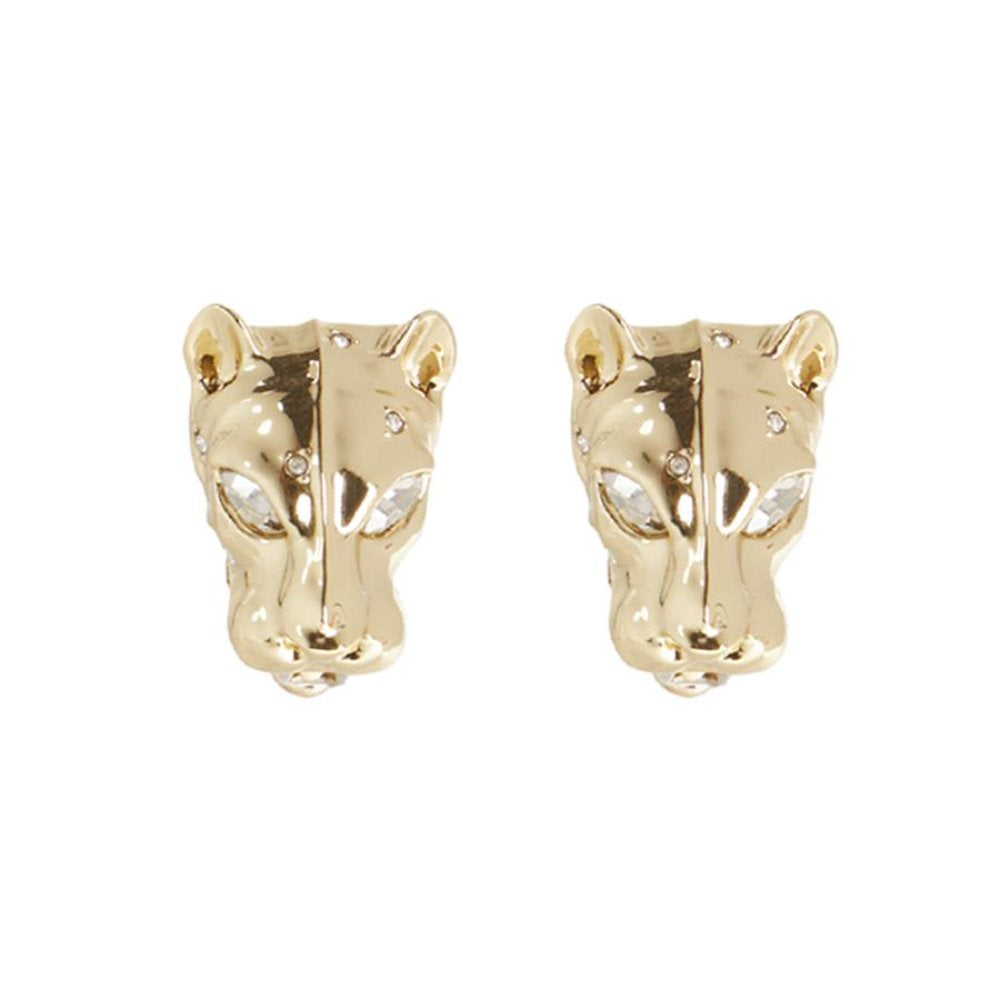 ALEXIS BITTAR PANTHER HEAD LEVERBACK POST EARRING