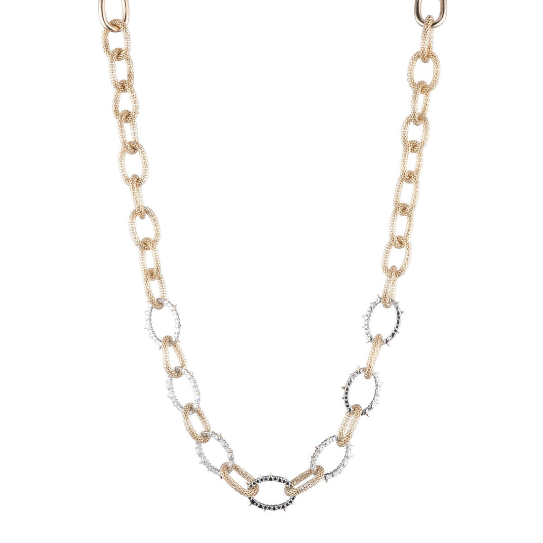 Alexis Bittar Chain Link Soft Necklace