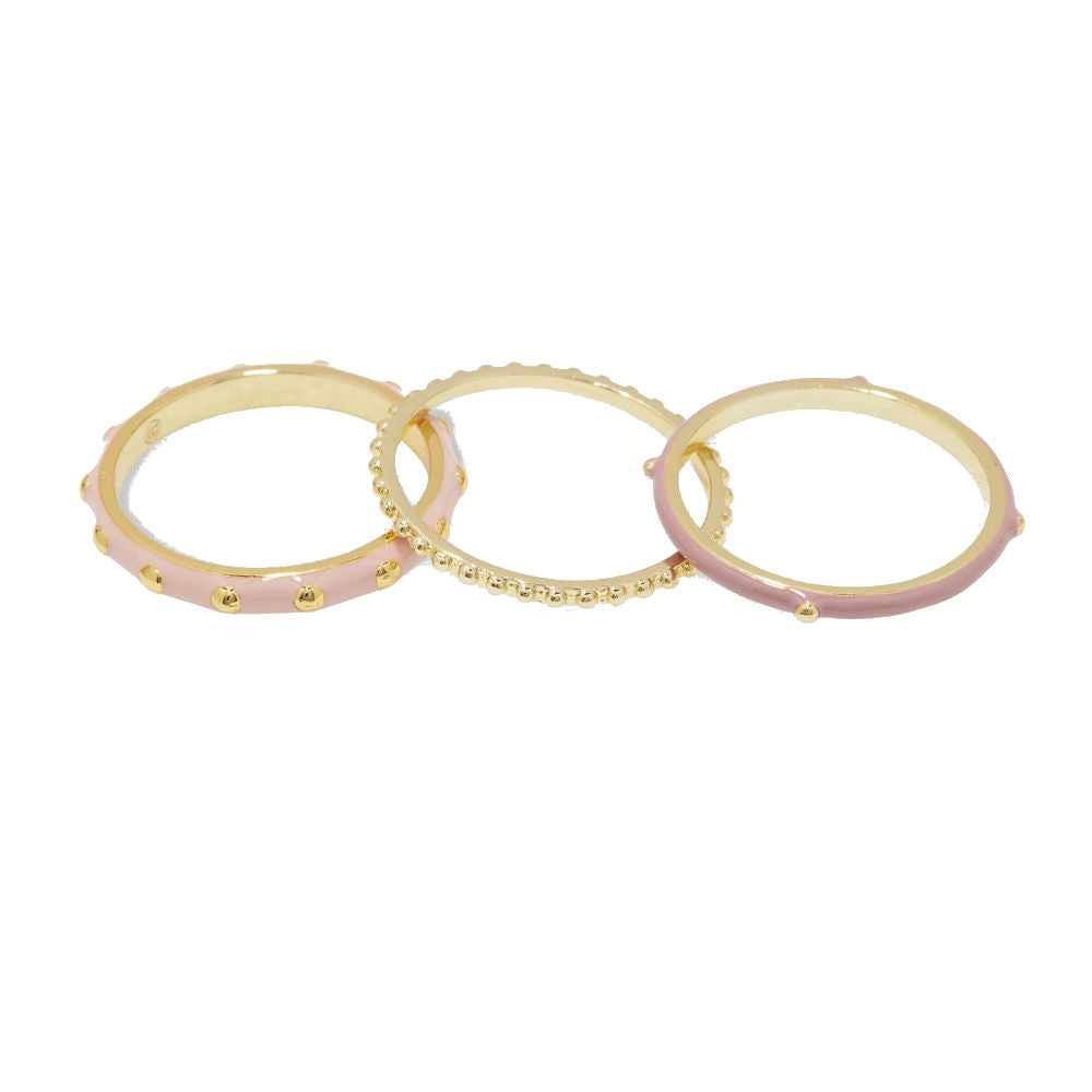 Gorjana Amalfi Ring Set | 18K Gold Plate