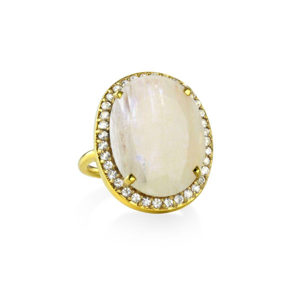 MARGARET ELIZABETH MOONSTONE RING