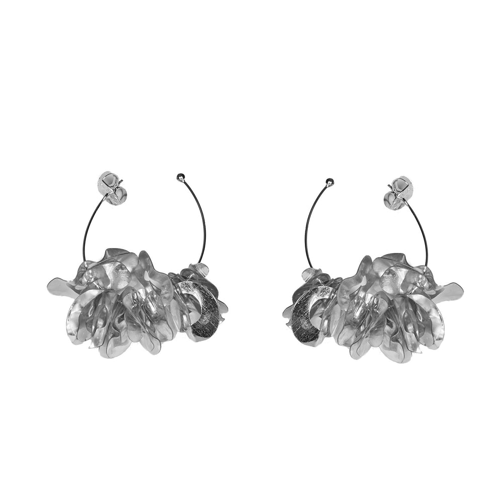 MIGNONNE GAVIGAN SILVER MINI LOLITA HOOP EARRINGS