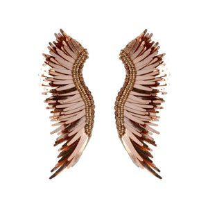 MIGNONNE GAVIGAN ROSE GOLD MADELINE EARRINGS