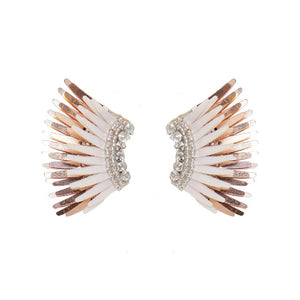 Mignonne Gavigan Mini Madeline Ivory Rose gold Earrings | Gold Plate