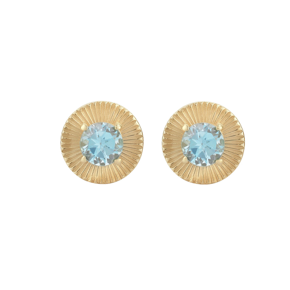 Zoe & Morgan Estella Blue Topaz Earring