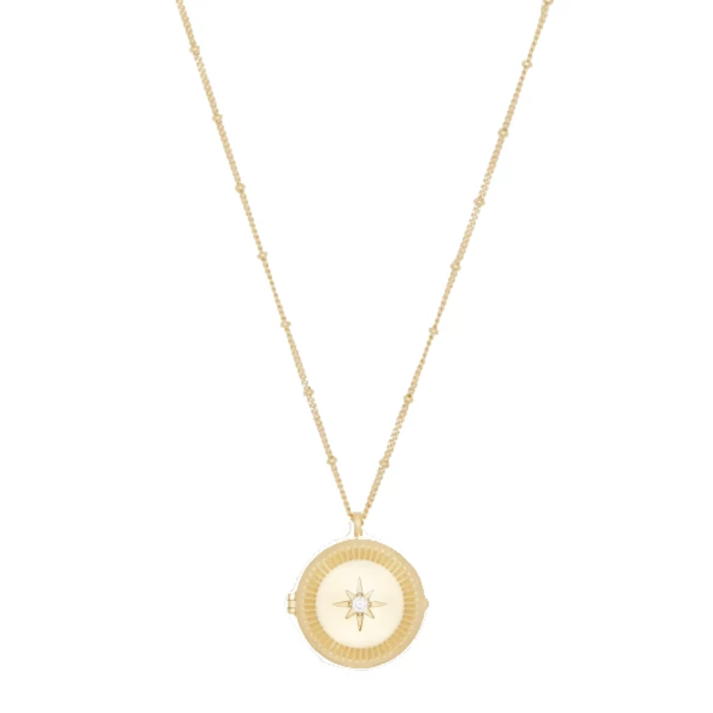 Gorjana Stellar Locket Necklace