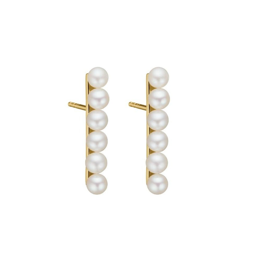 CHARLOTTE LEBECK LAURA PEARL EARRINGS