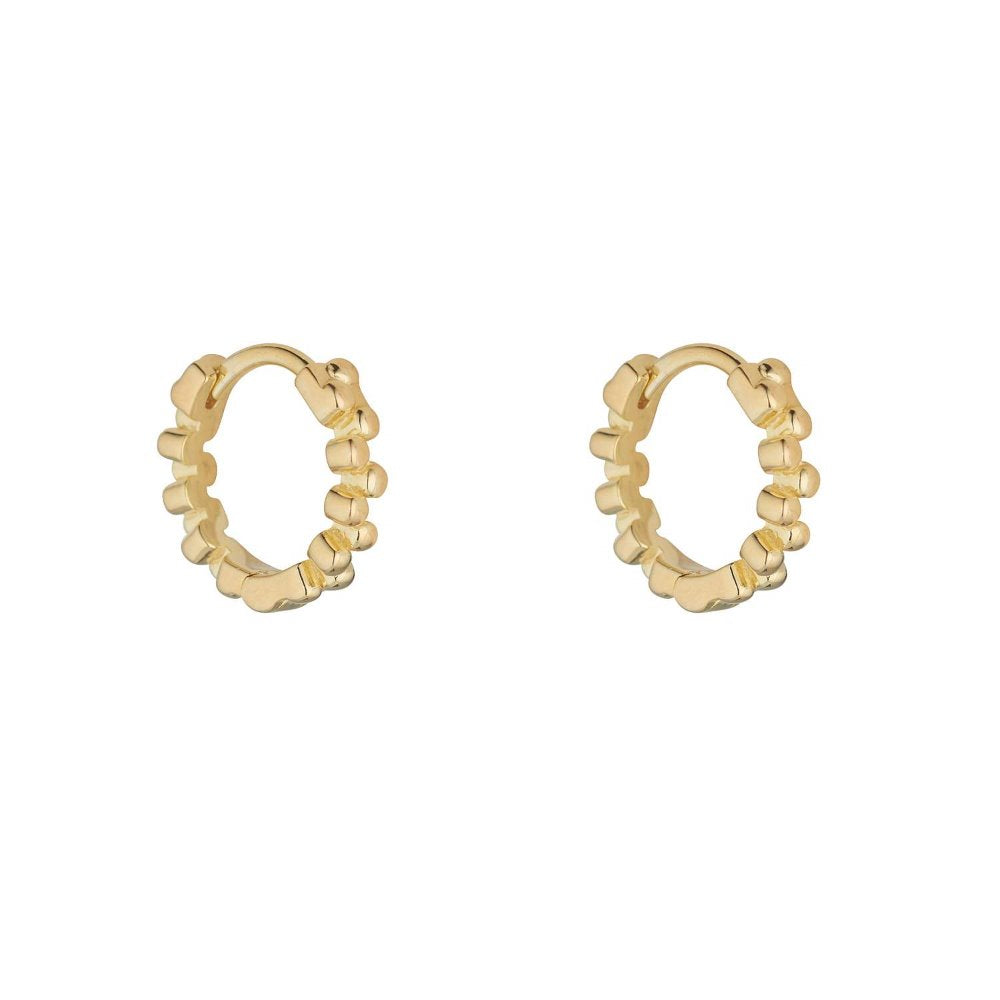 LOULERIE MINI HUGGY EARRINGS
