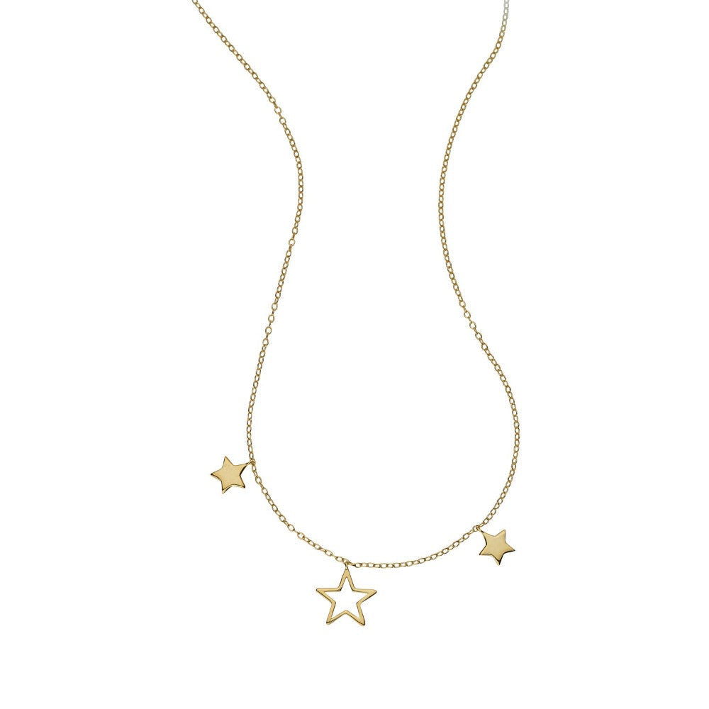 LOULERIE TRIPLE STAR NECKLACE