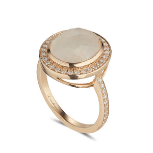 LOULERIE RAINBOW MOONSTONE RING
