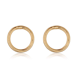 LOULERIE CIRCLE STUD EARRINGS