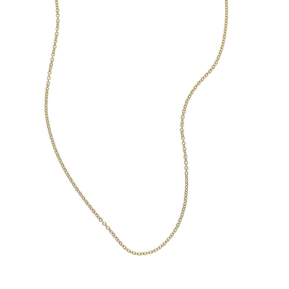 LOULERIE 9K GOLD ADJUSTABLE CHAIN NECKLACE