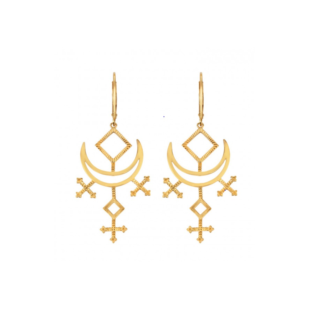 ZOE & MORGAN MELODY EARRINGS