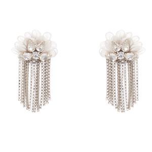 Mignonne Gavigan Mila Stud Earrings | Gold Plate | Beaded | Crystals