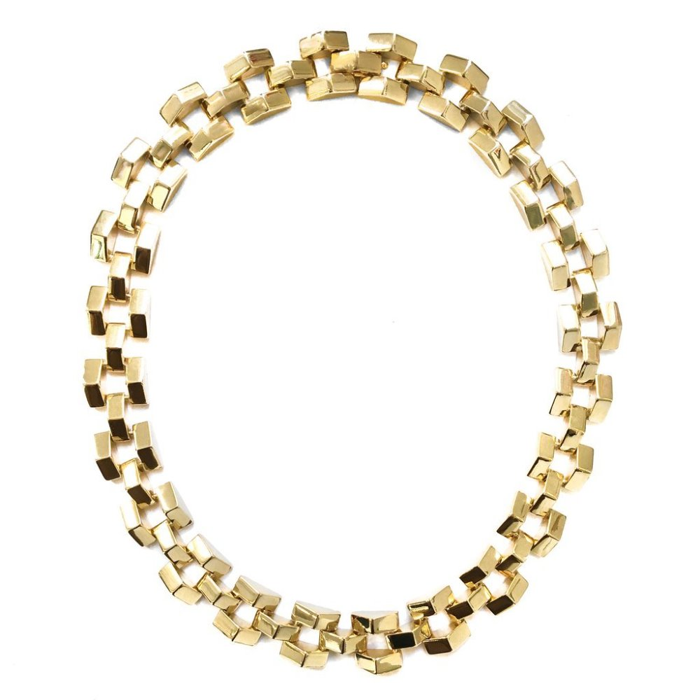 Lulu Frost Gold Plated Chunky Power Necklace