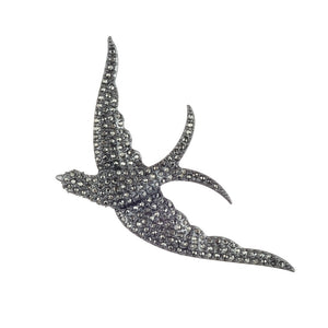 LULU FROST SWALLOW BROOCH