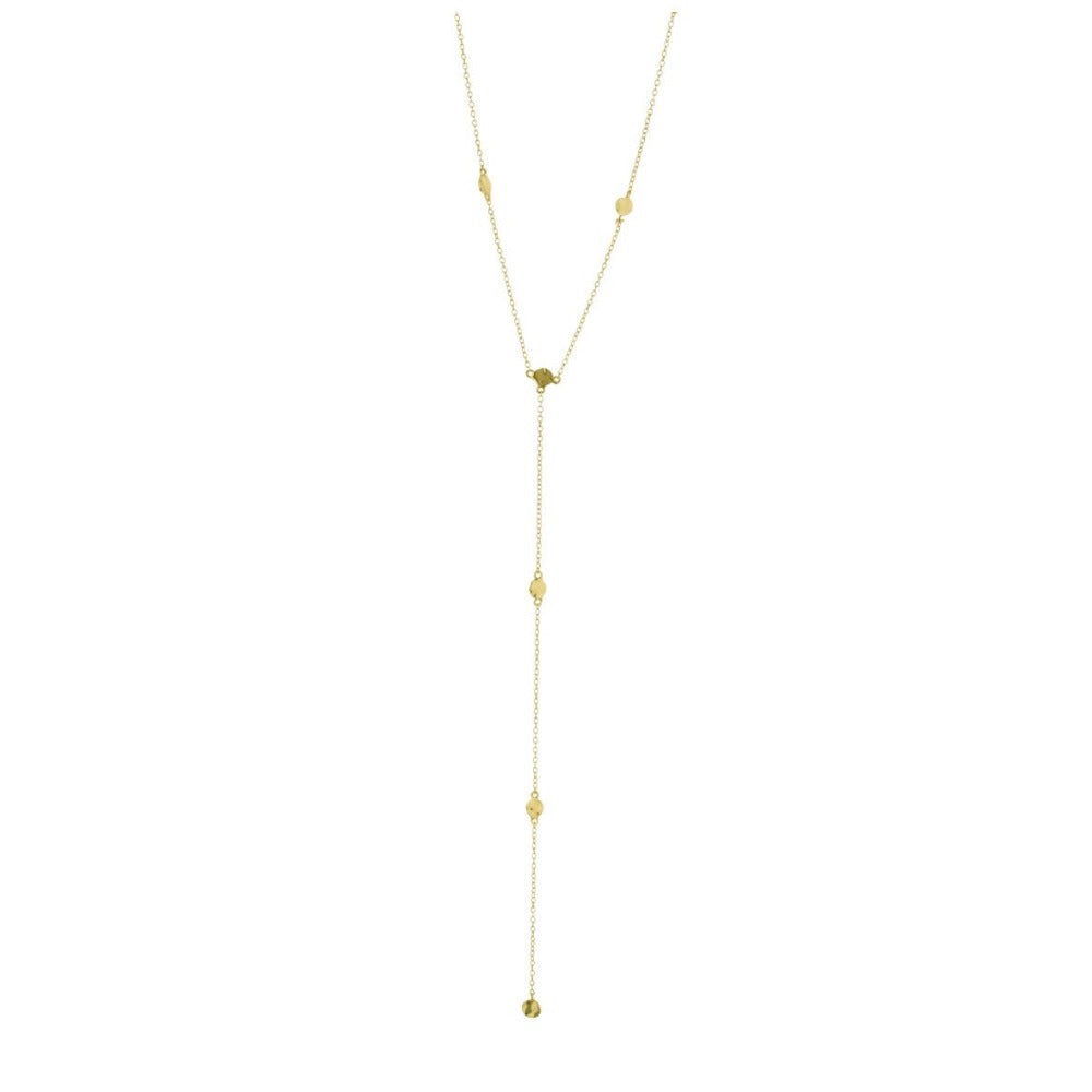 GORJANA CHLOE SHORT LARIAT NECKLACE