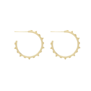 Gorjana Costa Small Hoops 18K Gold Plating