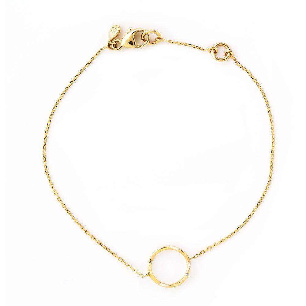 LOULERIE MINI WAVE GOLD BRACELET