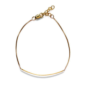 BY BOE CURVED BAR BRACELET