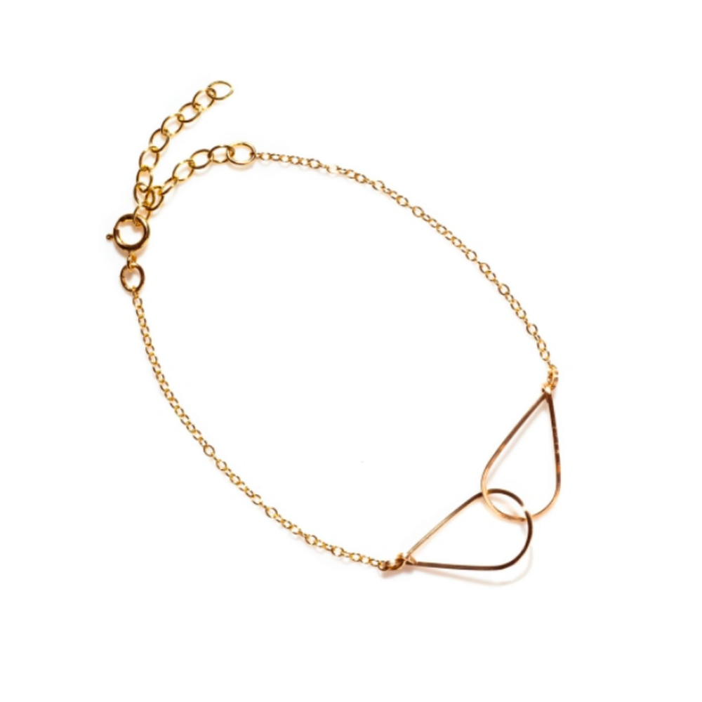 BY BOE INTERLINKING TEARDROP BRACELET